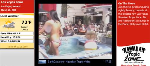 Las vegas strip livecam