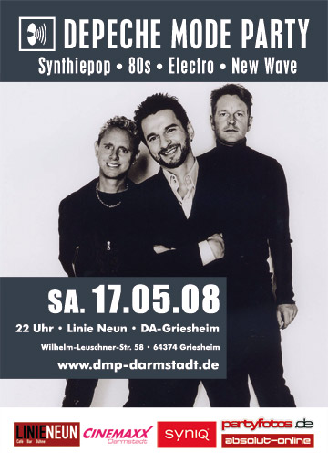 Depeche Mode Party 17.05.08 - Linie Neun DA-Griesheim