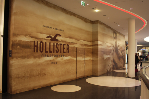 Hollister Shop in Frankfurt MyZeil