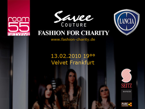 SAVEE COUTURE FASHION FOR CHARITY in Frankfurt