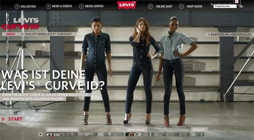 Was ist Deine Levi's CURVE ID?