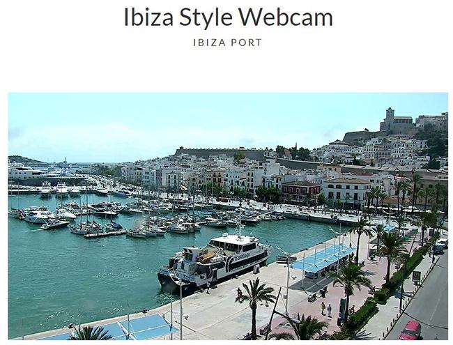 Webcam Ibiza Style Hafen